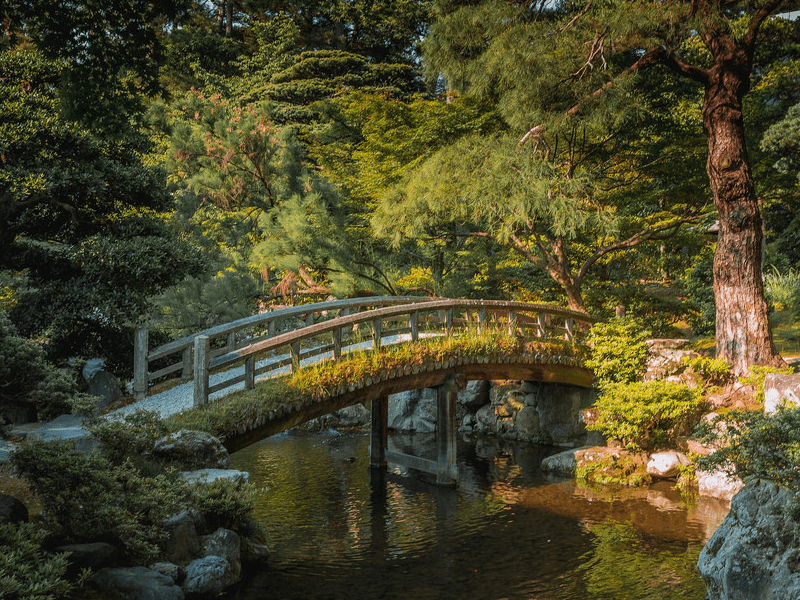Imperial gardens kyoto